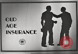 Image of old age insurance United States USA, 1939, second 4 stock footage video 65675065740