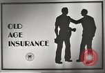 Image of old age insurance United States USA, 1939, second 7 stock footage video 65675065740