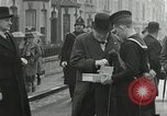 Image of Winston Churchill Bristol England, 1941, second 4 stock footage video 65675065766