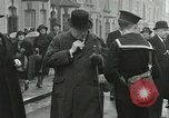 Image of Winston Churchill Bristol England, 1941, second 7 stock footage video 65675065766