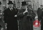 Image of Winston Churchill Bristol England, 1941, second 8 stock footage video 65675065766