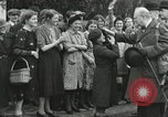 Image of Winston Churchill Bristol England, 1941, second 12 stock footage video 65675065766