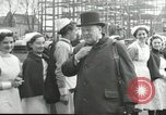 Image of Winston Churchill Bristol England, 1941, second 5 stock footage video 65675065767
