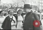 Image of Winston Churchill Bristol England, 1941, second 7 stock footage video 65675065767