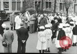 Image of Winston Churchill Bristol England, 1941, second 11 stock footage video 65675065767