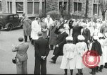 Image of Winston Churchill Bristol England, 1941, second 12 stock footage video 65675065767