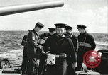 Image of Royal Canadian Navy anti-aircraft destroyer Atlantic Ocean, 1941, second 1 stock footage video 65675065769