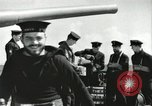 Image of Royal Canadian Navy anti-aircraft destroyer Atlantic Ocean, 1941, second 3 stock footage video 65675065769