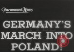 Image of invasion of Poland Cracow Poland, 1939, second 9 stock footage video 65675065779