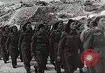 Image of Yugoslav Partisan women Yugoslavia, 1944, second 7 stock footage video 65675065802
