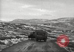 Image of convoy of trucks Crimea Ukraine, 1945, second 2 stock footage video 65675065823