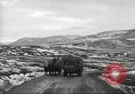 Image of convoy of trucks Crimea Ukraine, 1945, second 3 stock footage video 65675065823