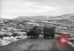 Image of convoy of trucks Crimea Ukraine, 1945, second 5 stock footage video 65675065823