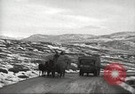 Image of convoy of trucks Crimea Ukraine, 1945, second 6 stock footage video 65675065823