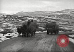 Image of convoy of trucks Crimea Ukraine, 1945, second 7 stock footage video 65675065823