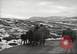 Image of convoy of trucks Crimea Ukraine, 1945, second 8 stock footage video 65675065823