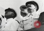 Image of Soviet military aircraft and paratroopers Moscow Russia Soviet Union, 1935, second 4 stock footage video 65675065837