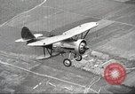 Image of Soviet military aircraft and paratroopers Moscow Russia Soviet Union, 1935, second 5 stock footage video 65675065837