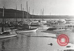 Image of harbor Herschel Island Canada, 1914, second 10 stock footage video 65675065851