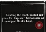 Image of supplies Banks Island Canada, 1914, second 1 stock footage video 65675065852