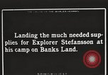 Image of supplies Banks Island Canada, 1914, second 5 stock footage video 65675065852