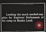 Image of supplies Banks Island Canada, 1914, second 6 stock footage video 65675065852