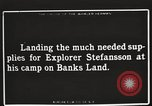 Image of supplies Banks Island Canada, 1914, second 7 stock footage video 65675065852