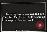 Image of supplies Banks Island Canada, 1914, second 8 stock footage video 65675065852