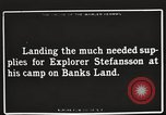 Image of supplies Banks Island Canada, 1914, second 12 stock footage video 65675065852