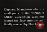 Image of Antarctic expedition Elephant Island, 1921, second 1 stock footage video 65675065866