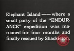 Image of Antarctic expedition Elephant Island, 1921, second 2 stock footage video 65675065866