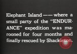 Image of Antarctic expedition Elephant Island, 1921, second 4 stock footage video 65675065866