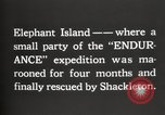 Image of Antarctic expedition Elephant Island, 1921, second 5 stock footage video 65675065866