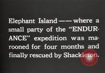 Image of Antarctic expedition Elephant Island, 1921, second 10 stock footage video 65675065866