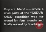 Image of Antarctic expedition Elephant Island, 1921, second 11 stock footage video 65675065866