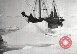 Image of Antarctic expedition Antarctic Ocean, 1922, second 11 stock footage video 65675065871