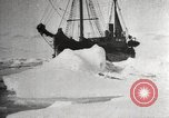 Image of Antarctic expedition Antarctic Ocean, 1922, second 12 stock footage video 65675065871
