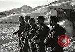 Image of German troops skiing Italy, 1943, second 3 stock footage video 65675065892