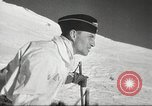 Image of German troops skiing Italy, 1943, second 4 stock footage video 65675065892