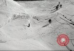 Image of German troops skiing Italy, 1943, second 10 stock footage video 65675065892
