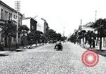 Image of cafes and shops of Batumi city in Adjar Batumi Adjar Autonomous Soviet Socialist Republic, 1930, second 5 stock footage video 65675065904