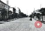 Image of cafes and shops of Batumi city in Adjar Batumi Adjar Autonomous Soviet Socialist Republic, 1930, second 6 stock footage video 65675065904