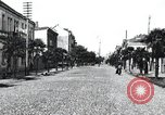 Image of cafes and shops of Batumi city in Adjar Batumi Adjar Autonomous Soviet Socialist Republic, 1930, second 7 stock footage video 65675065904