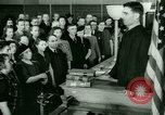 Image of oath of citizenship Bridgeport Connecticut USA, 1941, second 2 stock footage video 65675065916