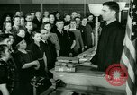 Image of oath of citizenship Bridgeport Connecticut USA, 1941, second 3 stock footage video 65675065916