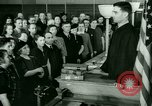 Image of oath of citizenship Bridgeport Connecticut USA, 1941, second 4 stock footage video 65675065916