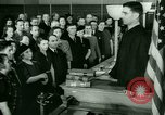 Image of oath of citizenship Bridgeport Connecticut USA, 1941, second 5 stock footage video 65675065916
