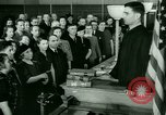 Image of oath of citizenship Bridgeport Connecticut USA, 1941, second 6 stock footage video 65675065916