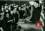 Image of oath of citizenship Bridgeport Connecticut USA, 1941, second 7 stock footage video 65675065916