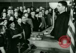 Image of oath of citizenship Bridgeport Connecticut USA, 1941, second 8 stock footage video 65675065916